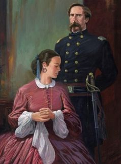 Joshua Lawrence Chamberlain and his wife. One of my favorite couples in history.