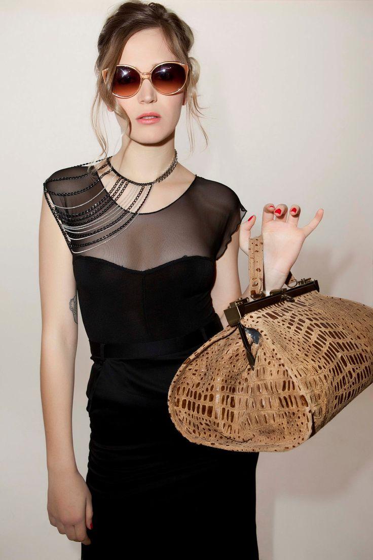 ELLA - Shoulder Chain, Shoulder & Neck chain,  Body Necklace - GOLD 30% off. $125.00, via Etsy.