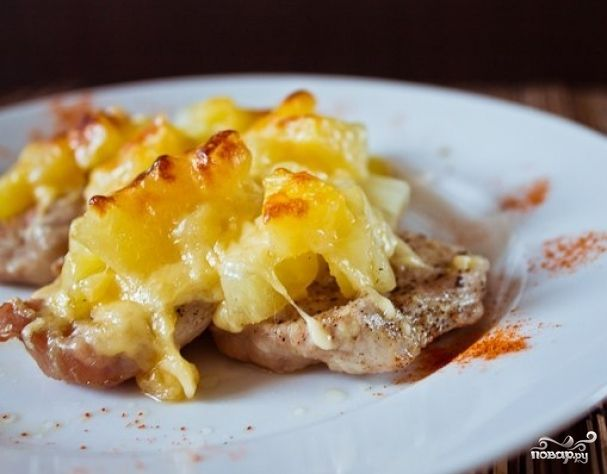 Ромштекс с сыром