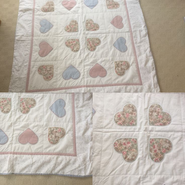 lap quilt, appliqué, cotton, own design 2012