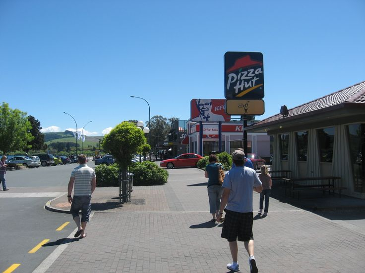 Just a walk in Taupo city