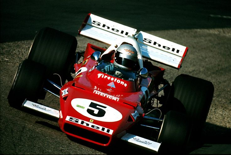 1971 Nurburgring Ferrari 312B Mario Andretti