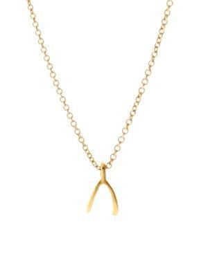 Aumentar Collar con espoleta pequeña de oro de Dogeared