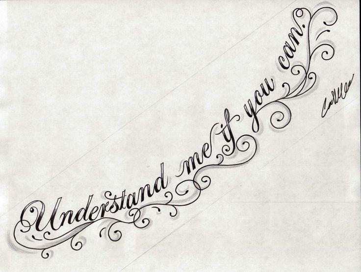 UNDERSTAND Chest Tattoo Design by ~NarcissusTattoos on deviantART