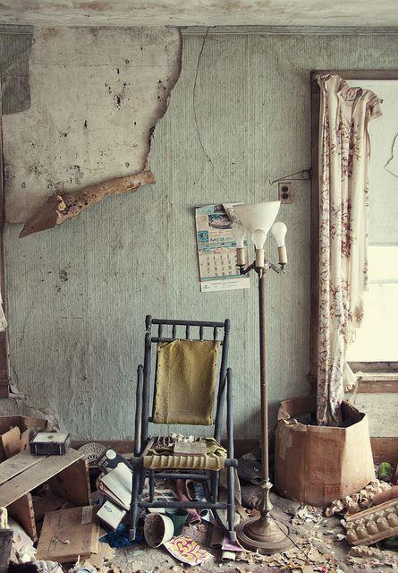 Abandoned house, Illinois.