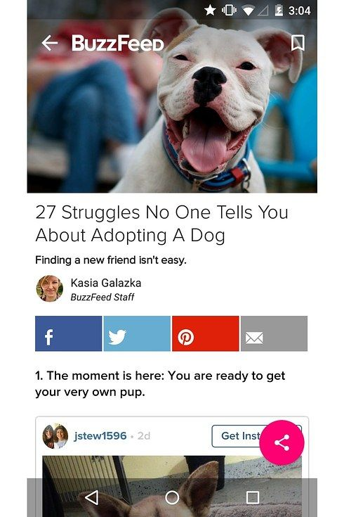The BuzzFeed App: Made With Material For Android Lollipop