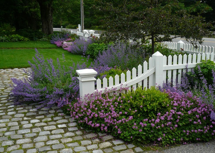 Landscaping Stones Portland Maine : Garden designs ideas fences gates picket maine project