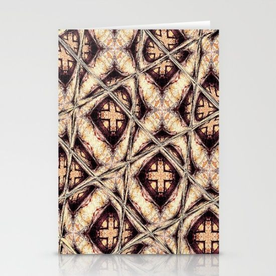 Autumn Pattern 1 Stationery Cards