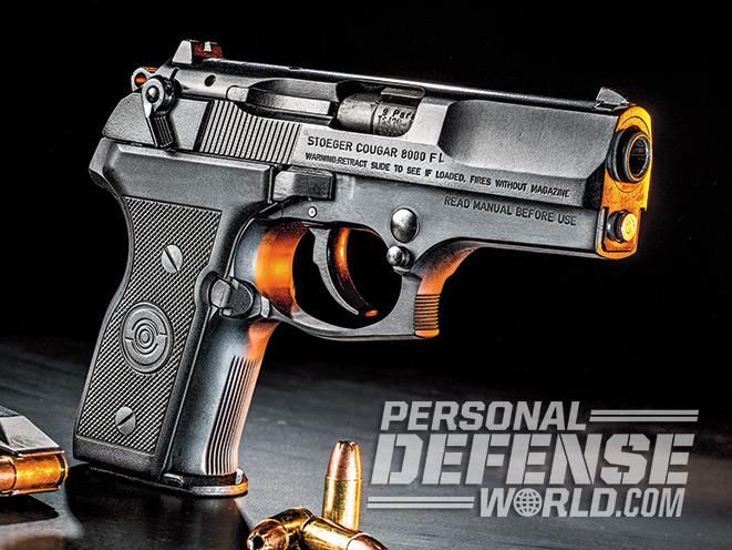 The rotary-barrel Stoeger Cougar Compact 9mm is ready to pounce and claw the EDC bullseye.