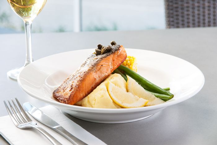 Salmon dish   www.cruiserscafebargrill.com.au   https://www.facebook.com/CruisersCafeBarandGrill