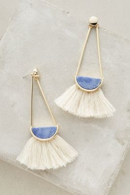 anthropologie ouvea fringed drops...