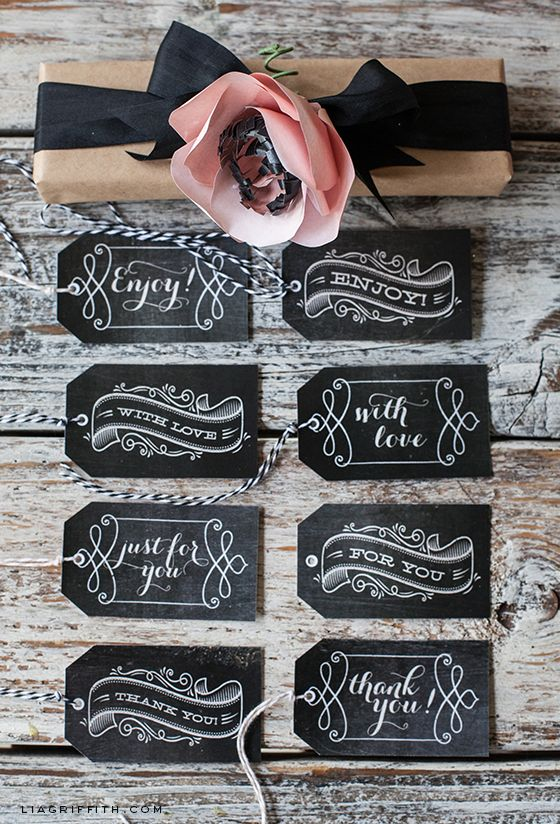 Vintage Chalkboard Tags @Angelia Thorpe Griffith @ lia Griffith