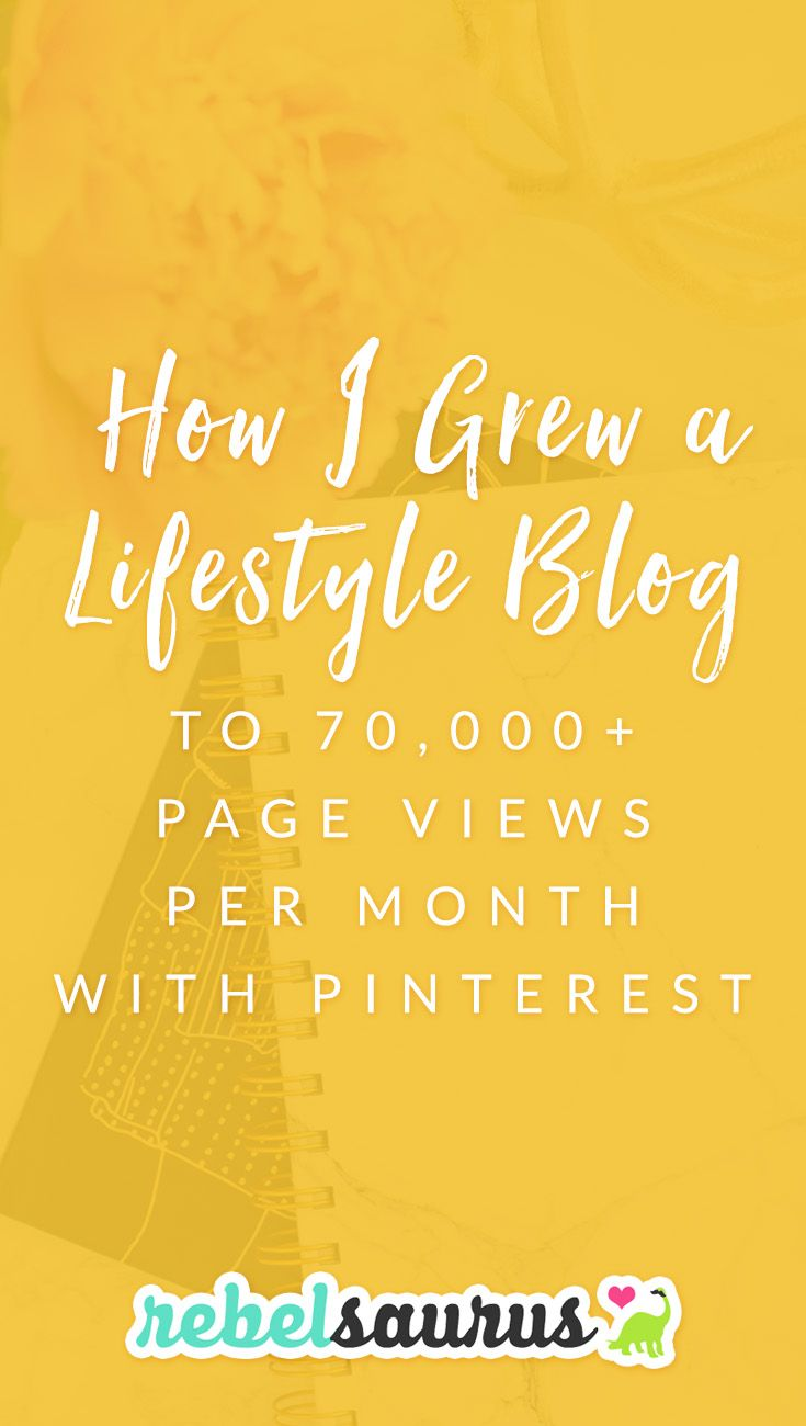 I spent most of an entire year working on one of my other businesses, a personal development blog called Resilient, teaching people how to live a happier life.  Here's how I grew a blog to 70,000 page views per month with Pinterest and a whole lot of blog posts.