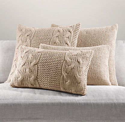 Pillows & Throws | Restoration Hardware