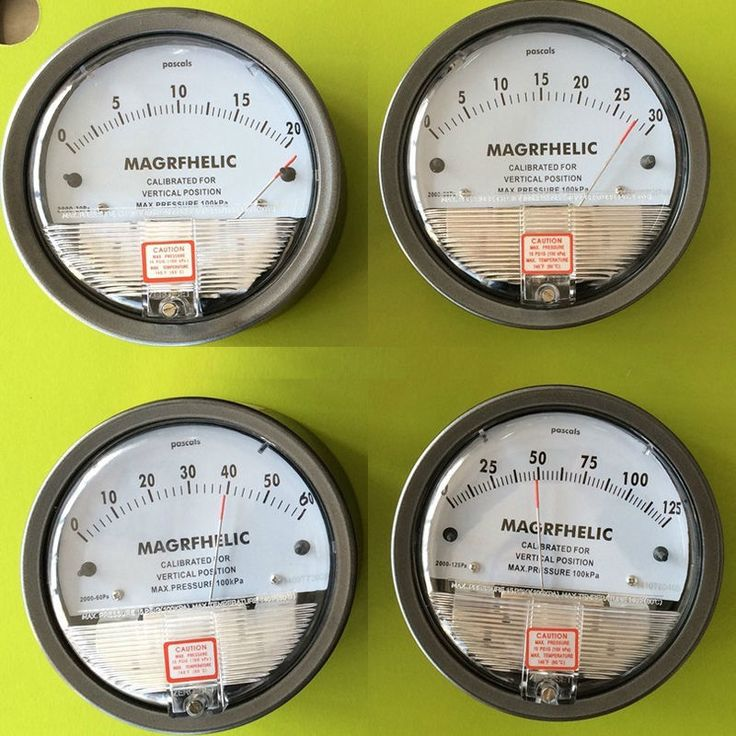 3000pa professional clean room differential pressure gauge Manometer gas air
