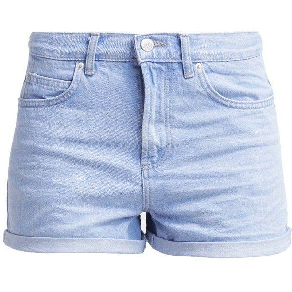 Farkkushortsit ($39) ❤ liked on Polyvore featuring shorts