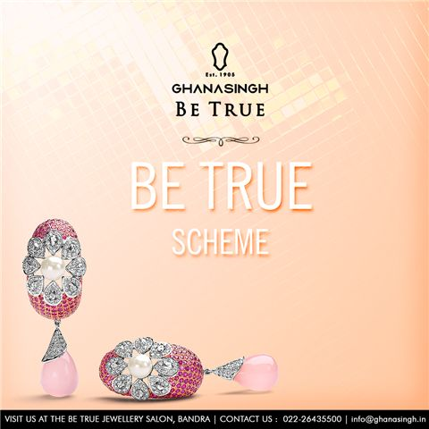 Now planning a #jewellery purchase with #BeTrueJewellerySalon actually becomes a savings plan with Be True Savings Scheme. Read about it http://bit.ly/1m4ImEy #Jewellery #Savings #Scheme #GhanasinghBeTrue