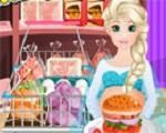 In Pregnant Elsa Burger Cooking, Pregnant Elsa has decided to prepare burger. She wants your help to purchase food ingredients and then help her in cooking burger. And let us help her cook a delicious burger. Have a nice time playing with Elsa!