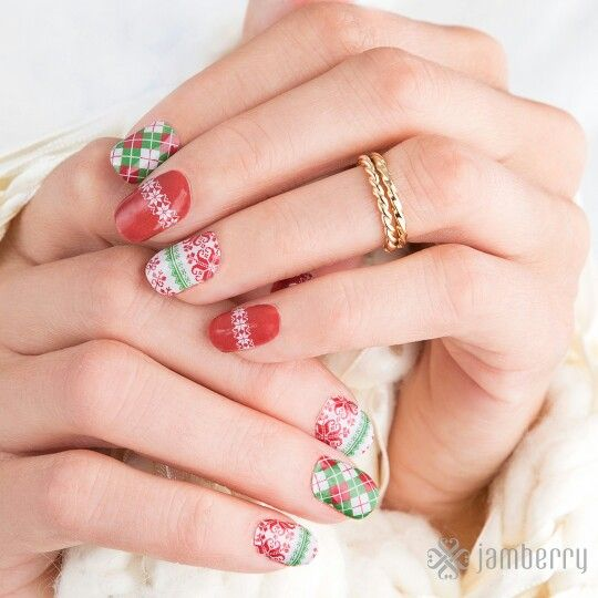 Christmas Socks Jamberry nails Jamwithjennyholmes.jamberry.com