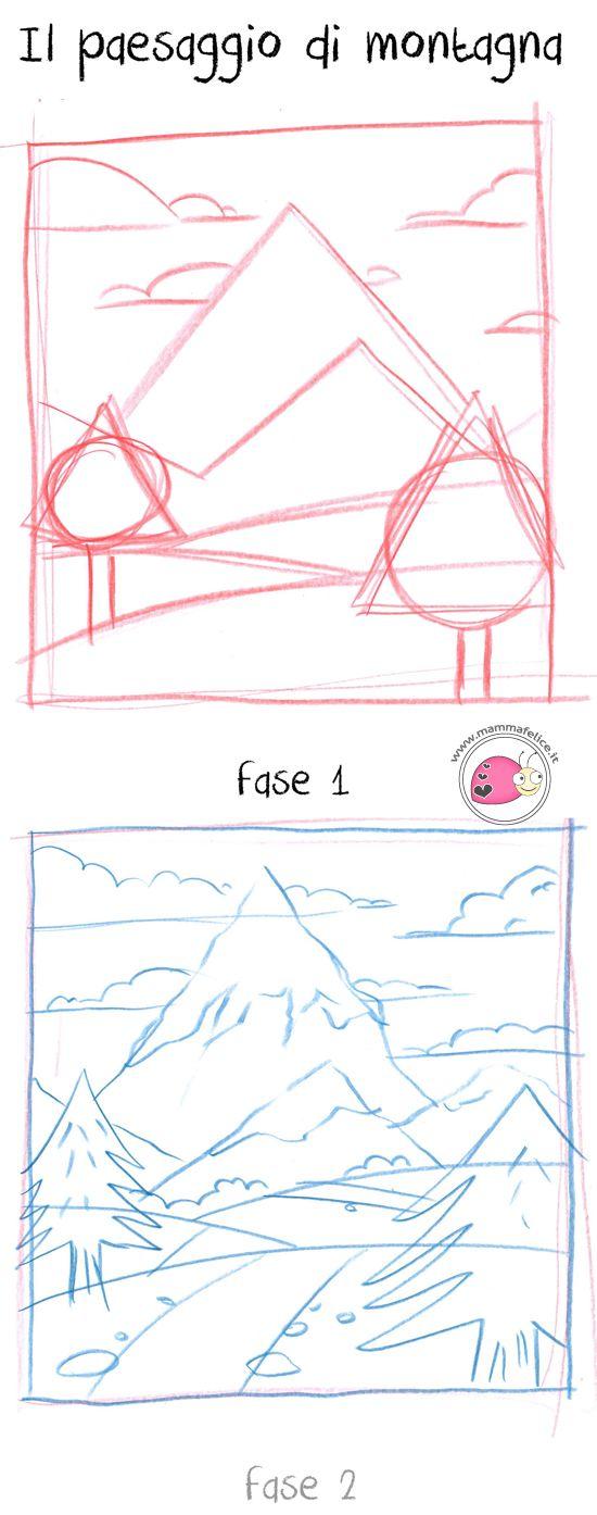 come-disegnare-un-paesaggio-montagna-prospettiva