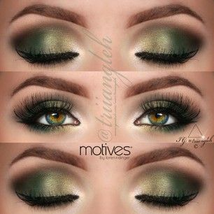 Hannah Black @triiangleh green makeup for ...Instagram photo | Websta (Webstagram)