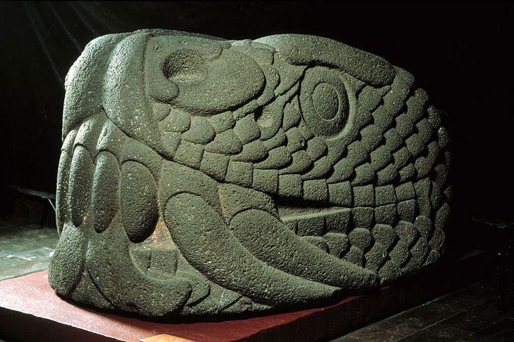 Serpent's head Mexica (Aztec) Late Post-Classic (1325-1521 A.D.)