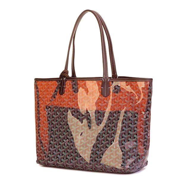 Amazing Goyard Transpa Bags 0308 Coffee How Much Does A St Louis Bag Cost Fashionhandbags