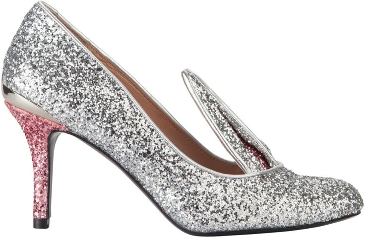Minna Parikka Drew silver-powder glitter FW15