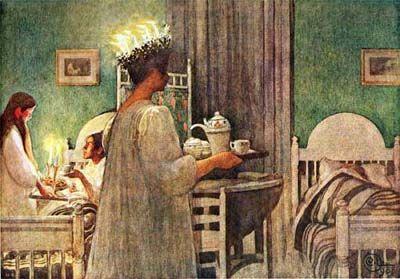 Sankta Lucia by Carl Larsson