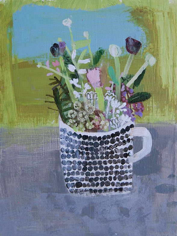 'Flowers' by Elaine Pamphilon #guestpinner @HappyMakersBlog @homeandgardenNL