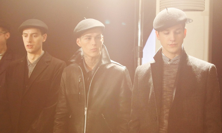 Backstage at YMC AW13