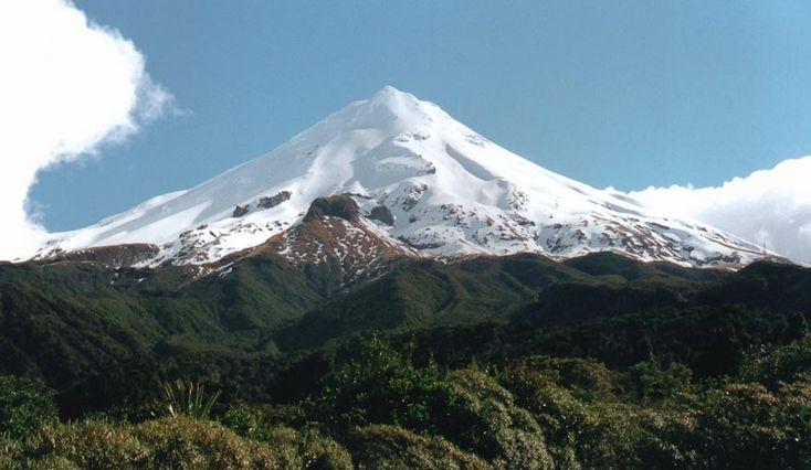 Hora Mt Taranaki / Mt Egmont, Nový Zéland