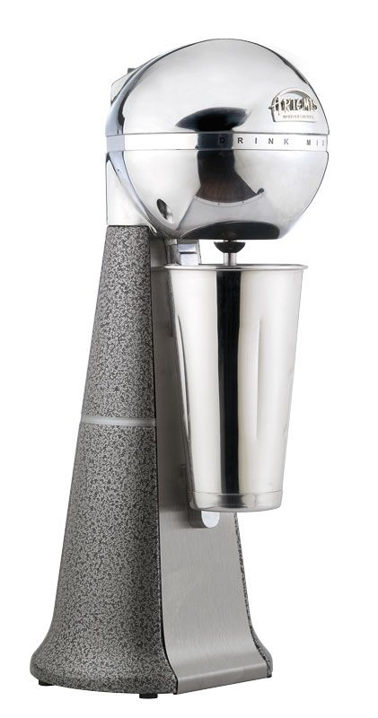 A-2001 Retro Metallic Drink Mixer with inox cup. #metallic