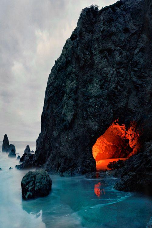 Matador Cave, Malibu, California photo via natalia