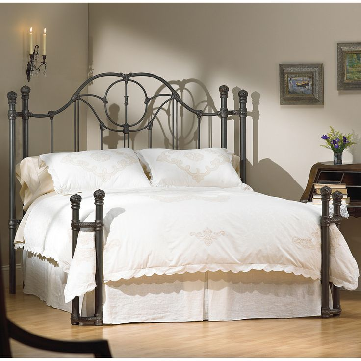 The 25 best wrought iron bed frames ideas on pinterest wrought iron beds iron bed frames and - Reasons choose wrought iron bed ...