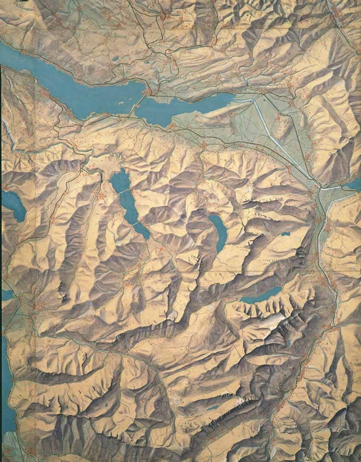 of cartography at the Swiss Federal