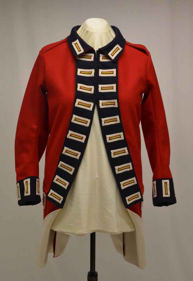 23rd Regiment Royal Welsh Fusiliers Reproduction coatee.