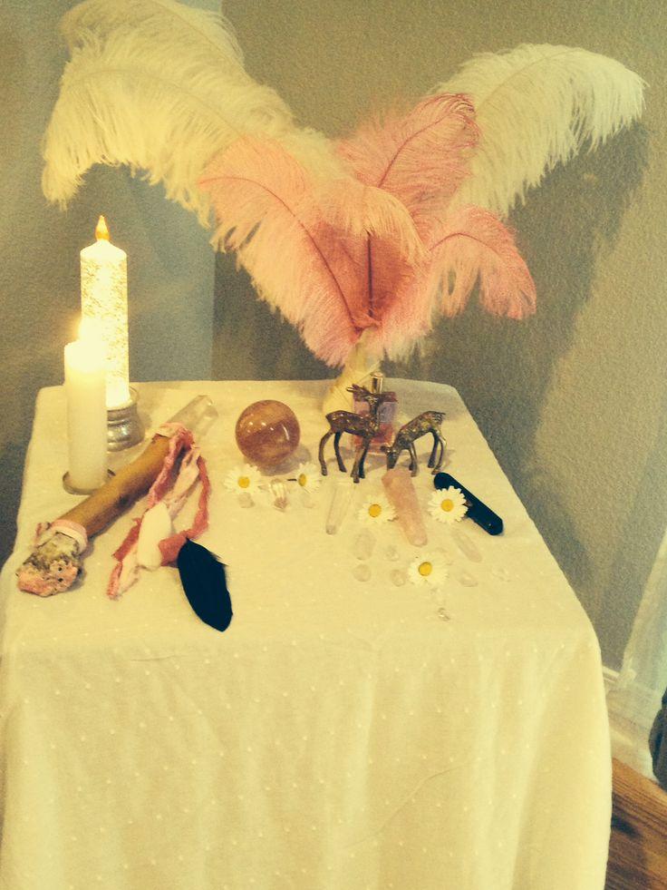 My 2015 Spring Equinox Altar
