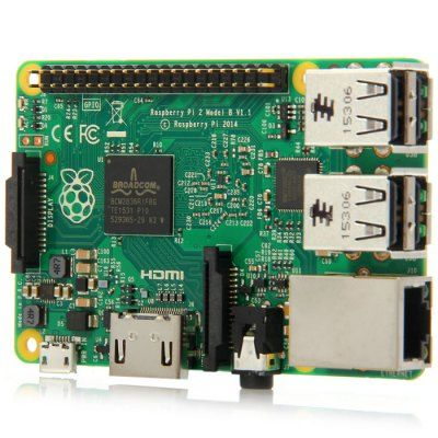 Raspberry Pi 2 Model B Board Broadcom BCM2836 900MHz ARM Cortex - A7 Support Windows 10 Ubuntu etc