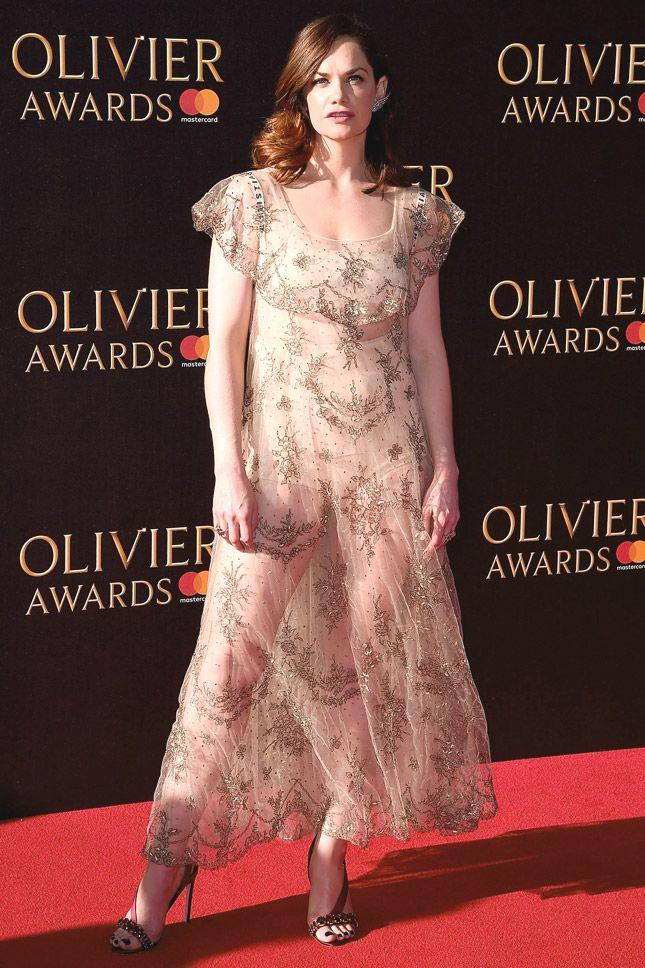 Рут Уилсон в Christian Dior на церемонии Olivier Awards в Лондоне
