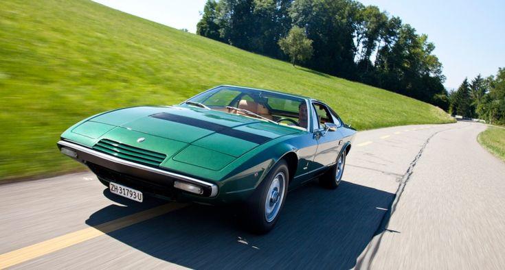 Maserati Khamsin: Angular art | Classic Driver Magazine