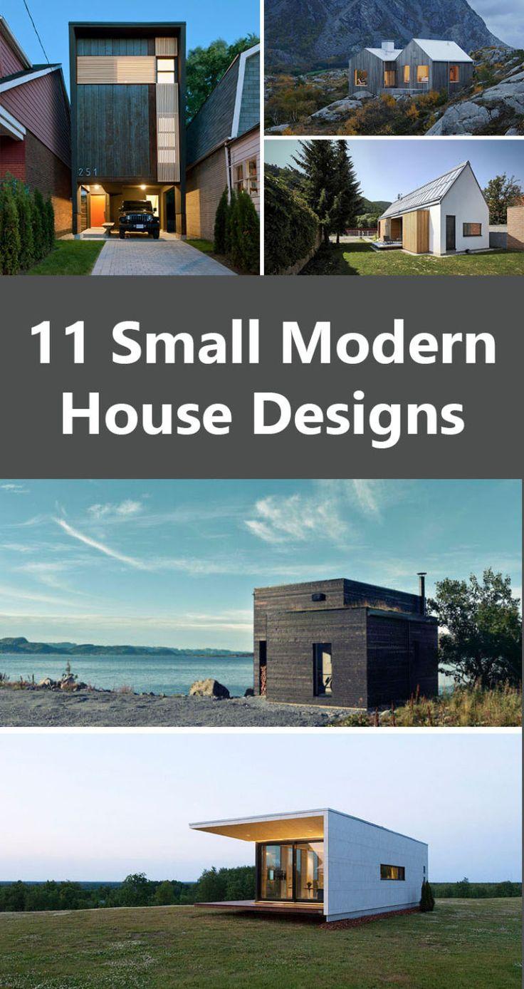 11 Small Modern House Designs