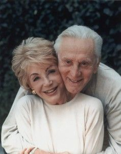 Kirk and Anne Douglas - 57 years married.