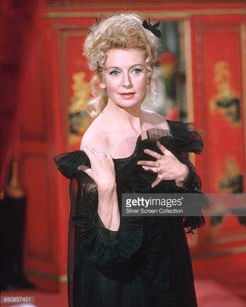 Scottishborn actress Deborah Kerr as Agent Mimi in the spy spoof 'Casino Royale' 1967