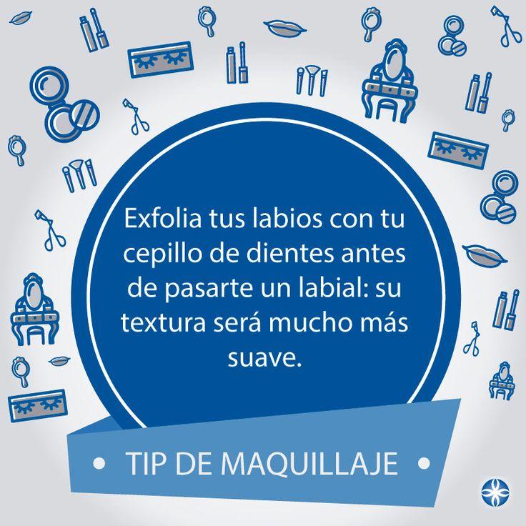 Exfoliar tus labios también es importante. #tipdemaquillaje  #aprendeconlosmejores #colegiaturadecosmetologia