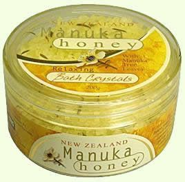 New Zealand Manuka Honey Bath Crystals