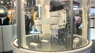 The fastest robot of the world from Stäubli High Speed, via YouTube.