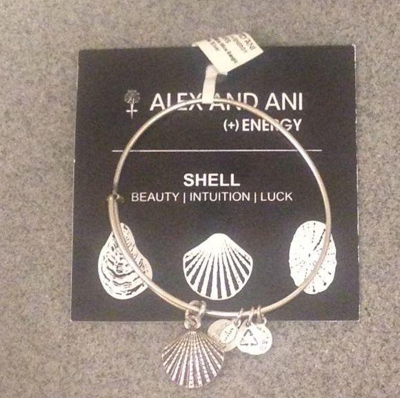 BRAND NEW ALEX AND ANI BRACELET- SHELL #AlexandAni