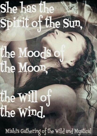 Sun, Moon, Wind.