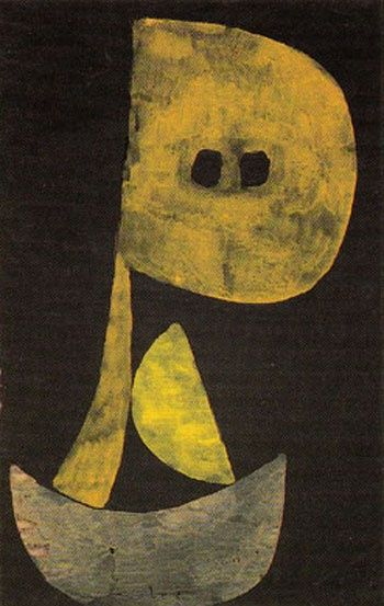 Paul Klee ~ Severe Countenance, 1939